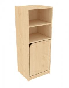 ŠAPITÓ XL skříňka 1 police, spodní dvířka pravá