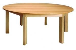 Stůl kulatý průměr 120/64 deska barevná