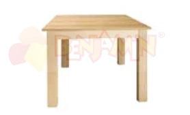 Stůl čtverec 120x120/46 deska barevná