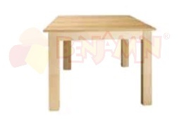 Stůl čtverec 120x120/64 deska barevná