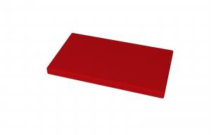 molitanový sedák pro lavičku TOP 005 d.1000 mm, rozměr 950x380x40 mm - červený kortexin