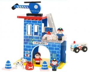 Dřevěná sada - policie